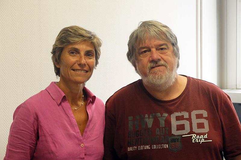 Valerie Paradis et Alain Couvineau